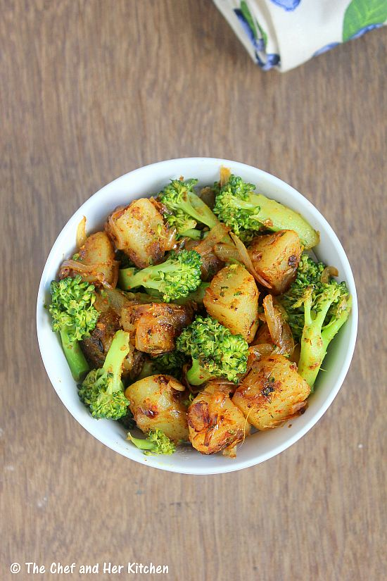 potato broccoli curry