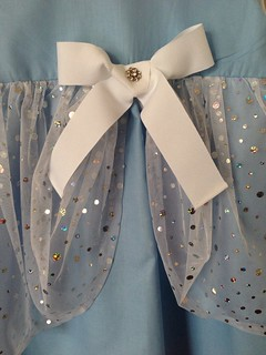 Kind of Cinderella dress - using bubble pattern