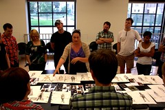 Mon, 2013-07-08 06:21 - The first read and design presentations for Crownless King, opening August 30, 2013!