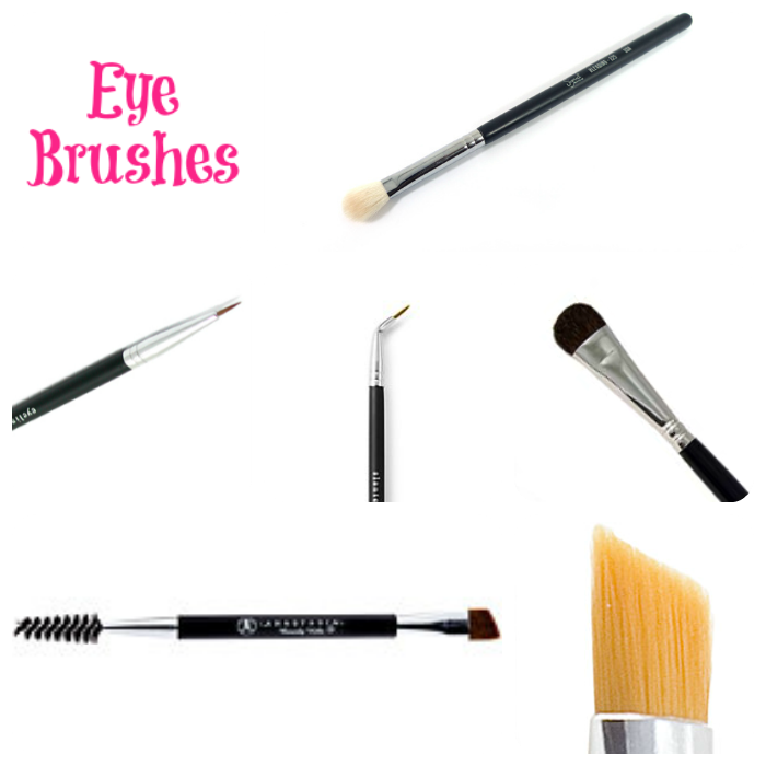 Different Eye Brushes on southeastbymidwest.com