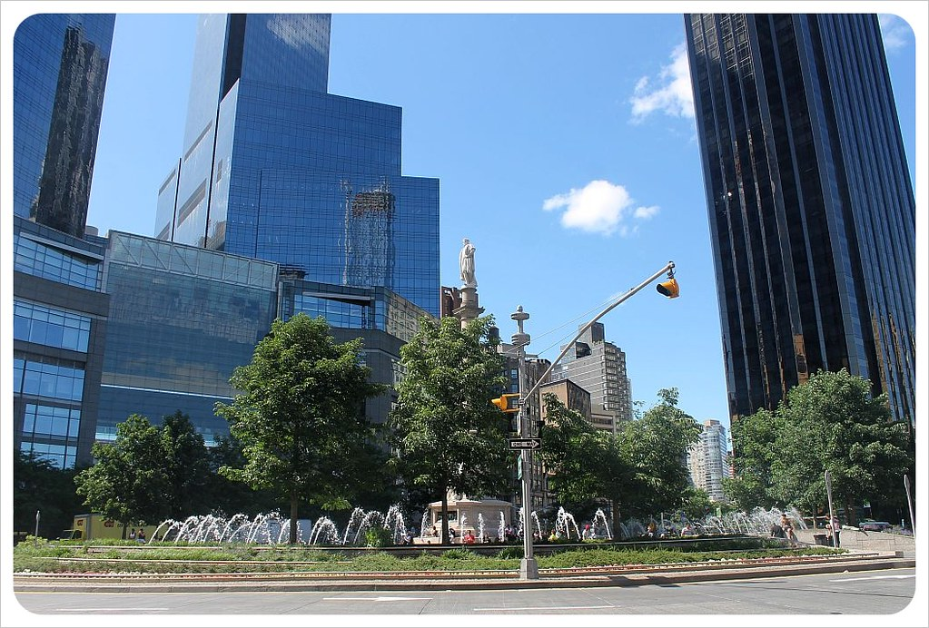 new york broadway columbus circle