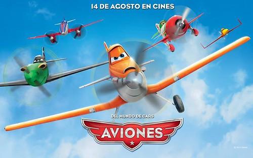 Cartel Aviones