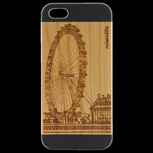 Rose Gold Wood Iphone 5 Case Cherry Wood Iphone 5 Case by