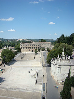 065 bovenop het Palais des Papes