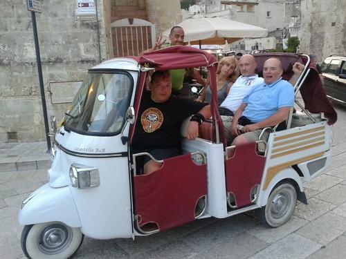 #rotolandoversosud2013 #Matera da #modena per un ape tour by manuelongo