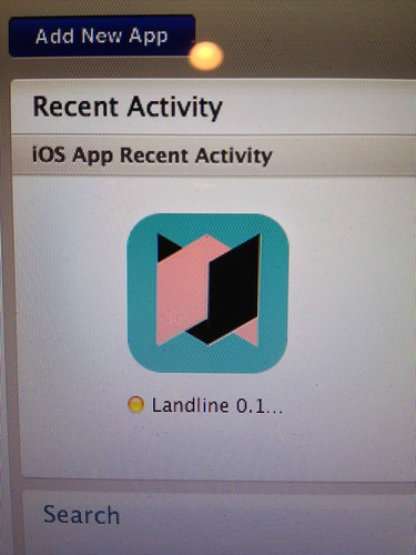 Landline App in the App Store! ... Well awaiting approval.