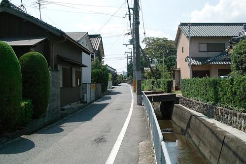 壺阪山に向けて