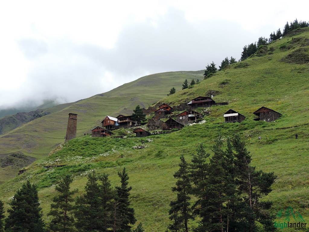 tour in Tusheti