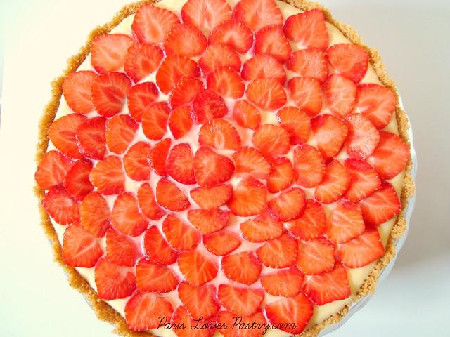 简易草莓T