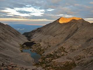 Twin Peaks Alpenglow