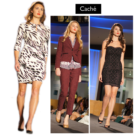 Saint Louis Fashion Week (Fall 2013), Fall into Fashion, Saint Louis Galleria, Caché c