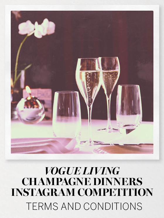 Champagne Dinners Instagram Competition Terms & Conditions