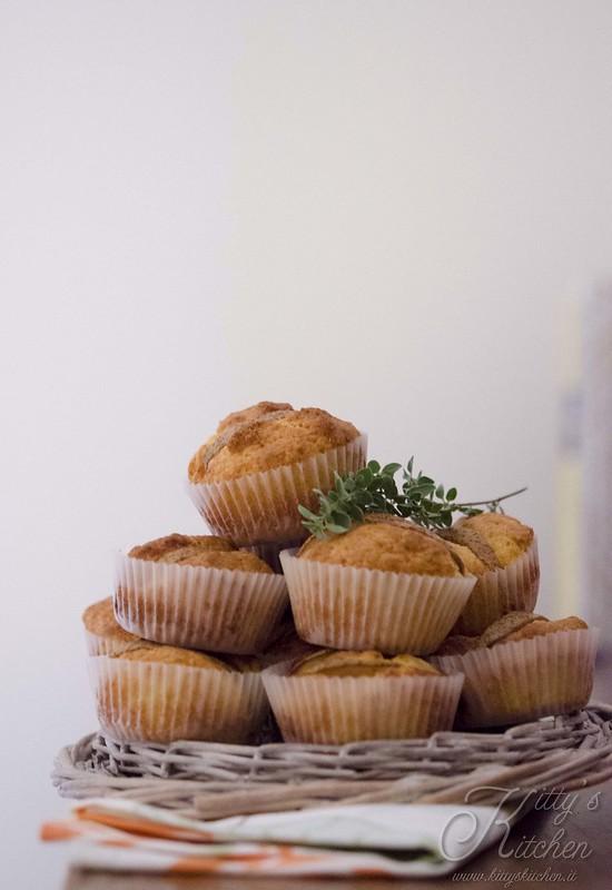 muffin salati caciocavallo polico e pere-2