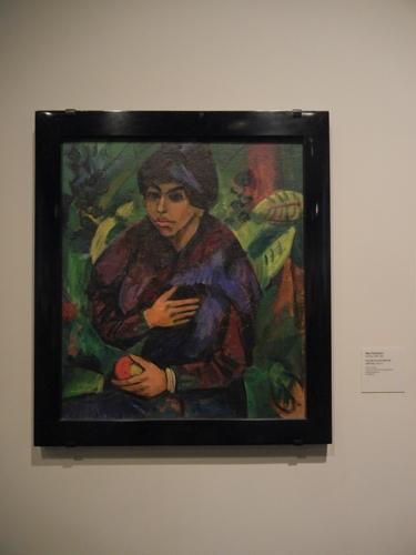 DSCN7886 _ Portrait of a Girl/Still Life,  1919-20, Max Pechstein (1882-1955), LACMA