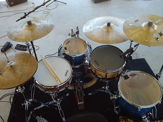 Sonor Blue Fade Zildjian K