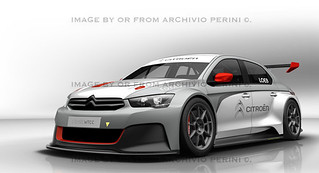 CITROEN 2014 WTCC RACE CAR