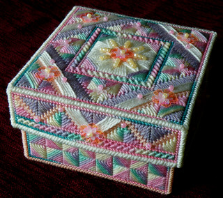 Stitched Box - Sugar Rush, closed