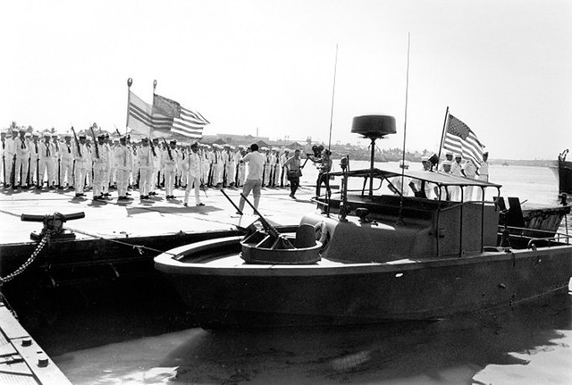 1970 Boat turnover ceremony, Saigon