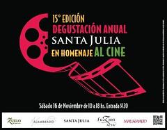 Bodega Santa Julia homenajea al cine en su Degustación Anual