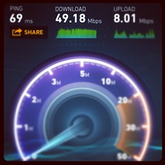 I'm seeing nearly 50 Mbps down on AT&T's #LTE network in #Minneapolis / #StPaul, #MN. Hallelujah…    #att