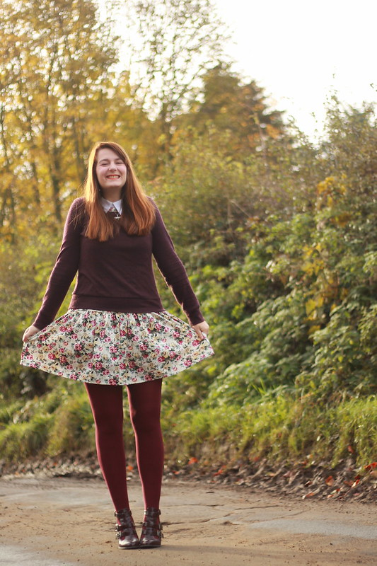 Floral Vintage Dress Rebel Angel