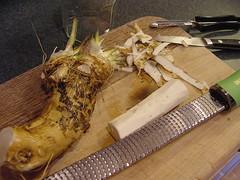 horseradish prep