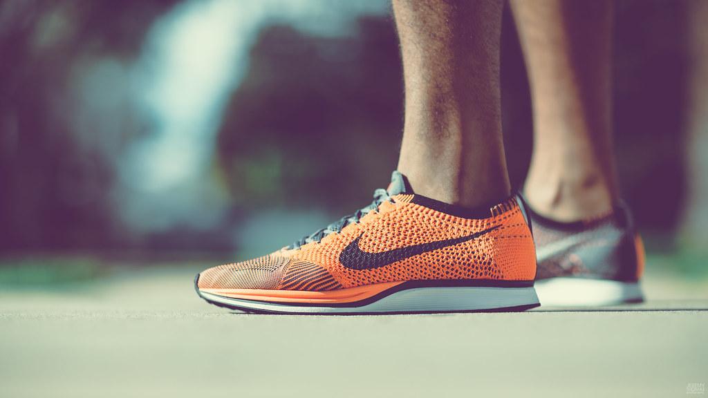 new product b7e4c ea5c4 ... Nike Flyknit Racer - Total Orange   by Jeremy Thomas Photography