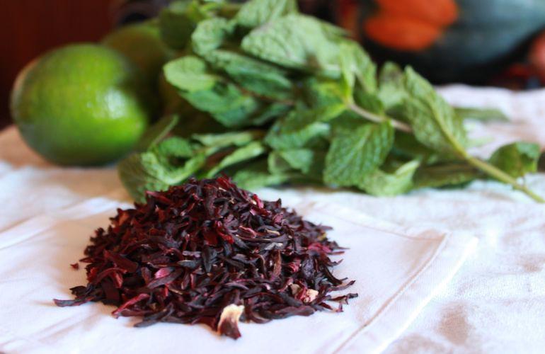 Clark Halpern's Hibiscus Iced Tea
