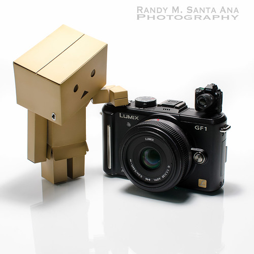 Danbo and GF1.