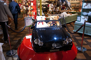 Grand magasin Harrods - MERCEDES SL 500