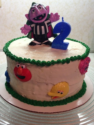 CraftyGoat's Notes: Sesame Street Birthday Cake