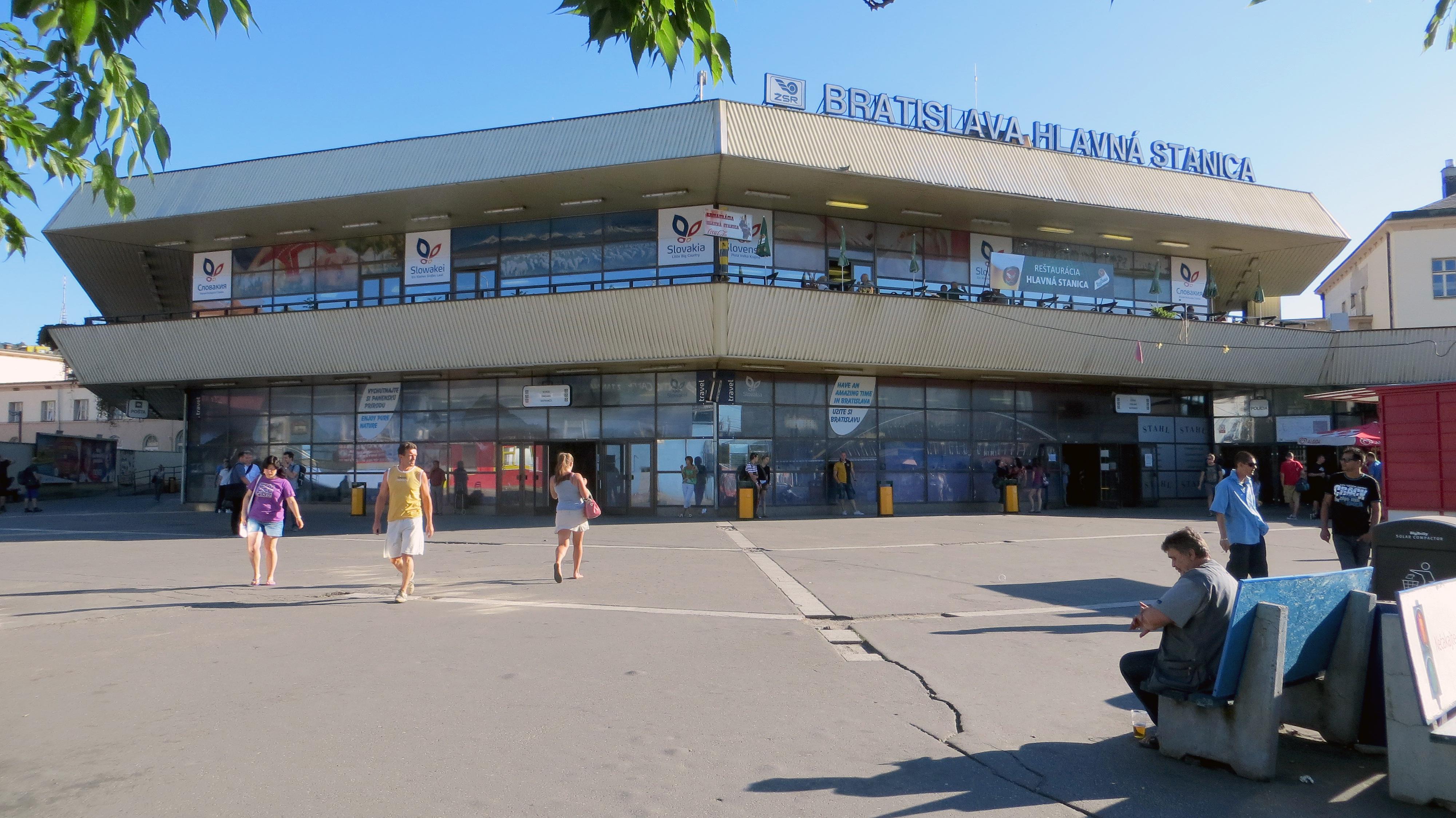 Trainstationspotting - Bratislava train station, Slovakia, 2013