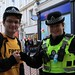 Small photo of Fixer Stephen Sutton and PC Presslie