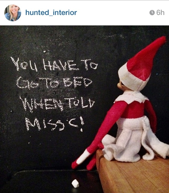 Elf on a Shelf fun