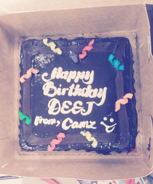 deej birthday cake