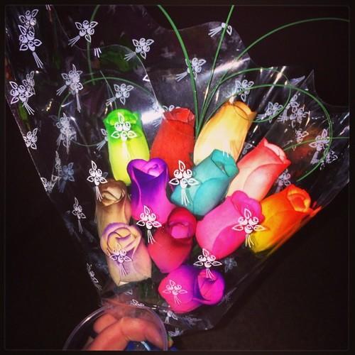 Y con estas flores finaliza la jornada de paseo, vista, compras, y disfrute general de mi visita a Vic #mercatmedievaldevic