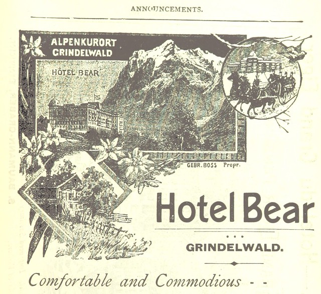 Image taken from page 275 of 'How to visit Switzerland. A guide book to the chief scenes of interest in Switzerland, together with the arrangements for the Grindelwald and Davos-Platz Conference. Edited by H. S. Lunn ... Third edition'