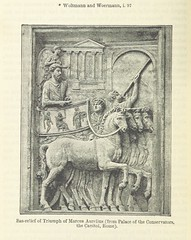 """British Library digitised image from page 610 of """"The Student's Roman Empire. A history of the Roman Empire from its foundation to the death of Marcus Aurelius. 27 B.C.-180 A.D"""""""