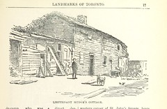 "British Library digitised image from page 45 of ""Robertson's Landmarks of Toronto. A collection of historical sketches of the old town of York from 1792 until 1833 (till 1837) and of Toronto from 1834 to 1893 (to 1914) . Also ... engravings ... Published"
