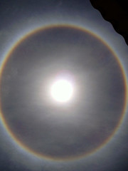 Solar Halo from Alice Springs