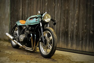 Honda cafe racer by Kikishop Custom