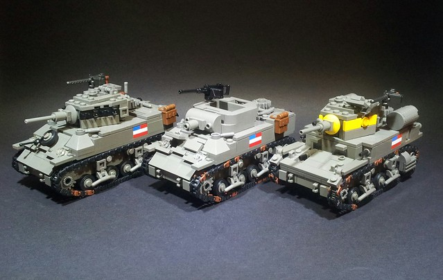 M5/M8/M3 light tanks