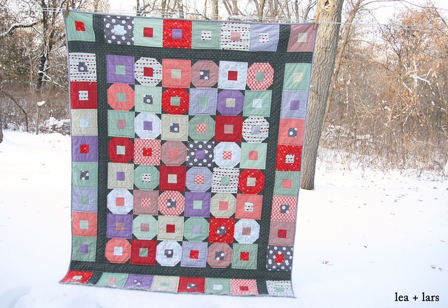 happy-go-lucky quilt for winter