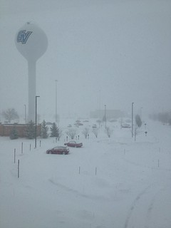 Winter at #gvsu