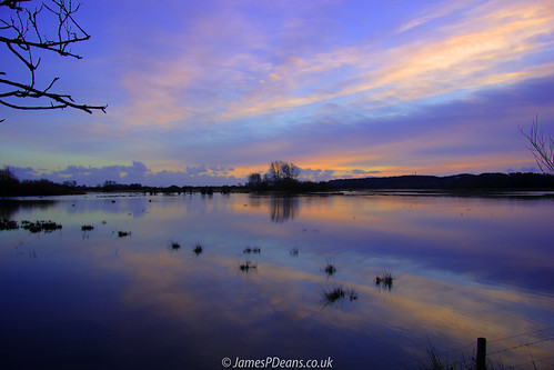 england europe hampshire landscape reflection uk unitedkingdom flood sunset avon digital downloads for licence timeofday gb prints sale weather man who has everything britain james p deans photography