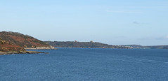Pendennis Castle and Falmouth Bay