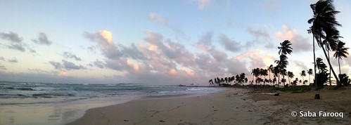 ocean sea sky panorama beach nature water clouds dominicanrepublic caribbean puntacana travelplanet