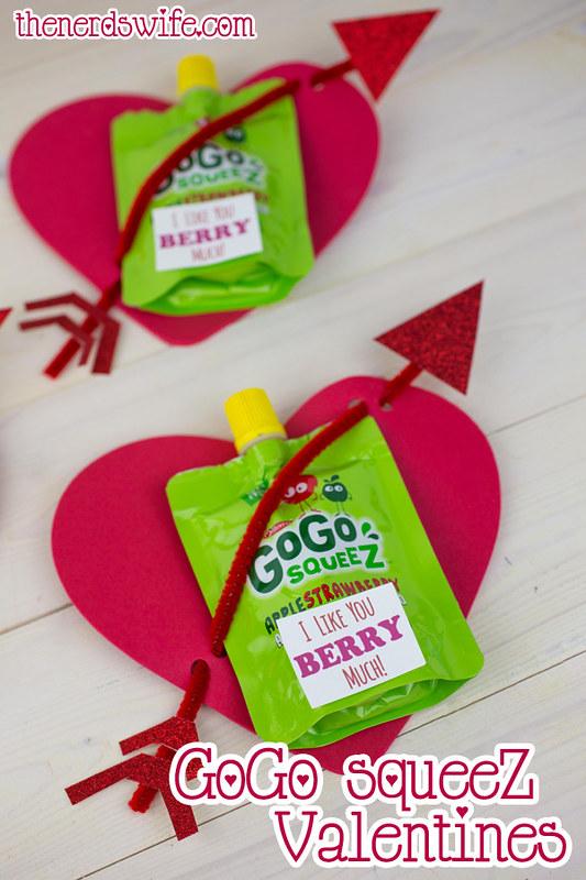 GoGo squeez Valentines