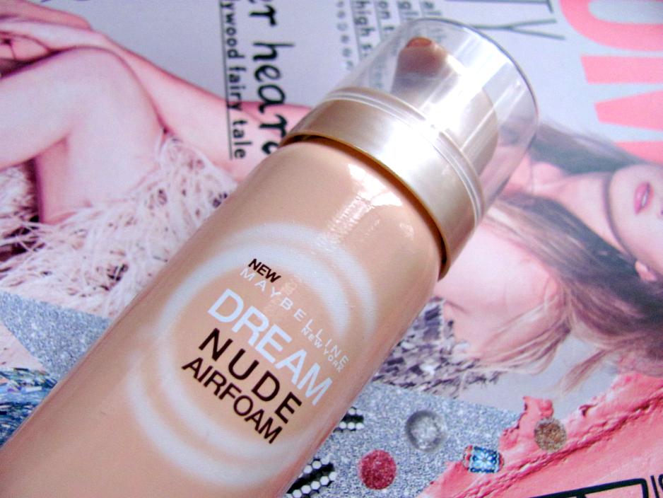 Maybelline, Dream Nude Airfoam, Foundation