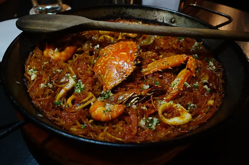 Seafood Fideua at Bomba Paella Bar, Singapore